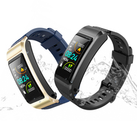 S2 1.08-inch Color Screen Waterproof Smart Wristband with Bluetooth Headset