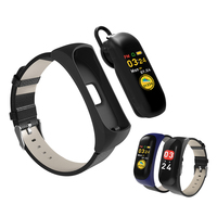 C5 BT Earband Portable Color Screen Headset Bracelet