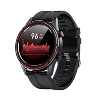 LEMONDA 1.3'' Full Touch Round HD Screen with Heart Rate Monitoring Function Magic Smart Watch